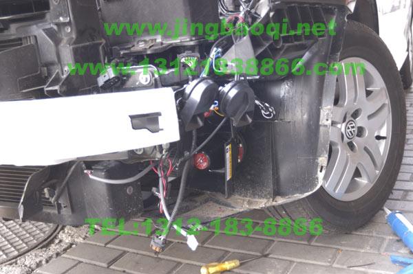 v81警报器+hf21大灯轮闪器+s201螺旋管爆闪灯